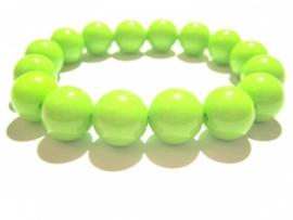 CA-0105L Basisarmband Neon Lime
