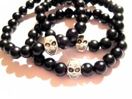 A-0368 Armband Skull