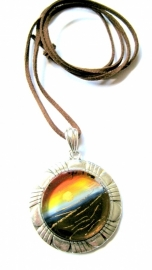 HL-0115  Ketting Sunset