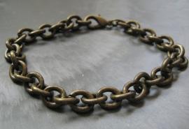 CA-0030 Basis Armband Brons