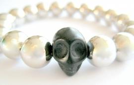 A-0367 Armband Skull