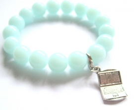 A-0406 Armband met charm