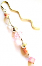 BL-0019h  Pink and Crystal