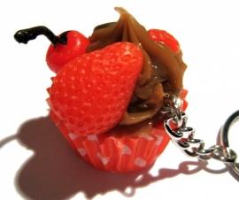 SL-0227 Sleutelhanger Cupcake
