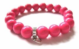 CA-0013M Basis Armband Pink