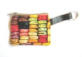 SL-0323 Sleutelhanger Portemonneetje Macarons