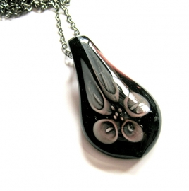 HL-0183 Ketting Italian Blacksilver
