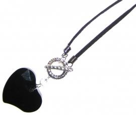H-0138  Black Heart