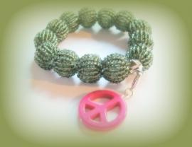 A-0308 Armband Peace