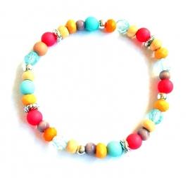 A-0564 Armbandje Kleurtjes