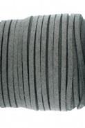 Suede veter lang 90cm of kort 50cm