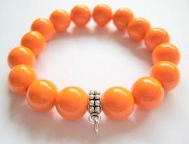 CA-0087ML  Armband Oranje