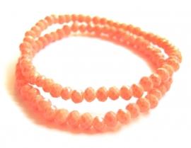 CA-0406S  Basisarmbandje Oranje