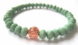 A-0452 Armbandje Erenite Green