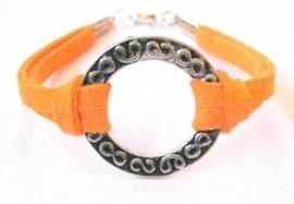 A-0225  Armband Orange