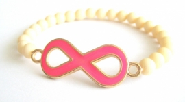 A-0496  Armbandje Infinity