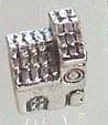 PM-0071  Kraal Zilver Kerkje