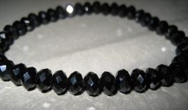 CA-0040S Basis Armband Charming Hematite
