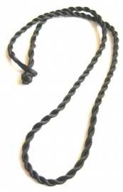 LK-0015 Zijden koord zwart