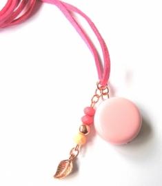 HL-0443 Ketting Pink Roze Rosé