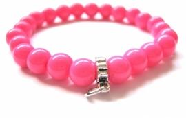CA-0052S Basis Armband Pink