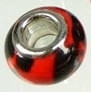 Kraal rood/zwart  PG-0040