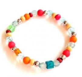 A-0571 Armbandje Kleurtjes