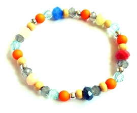 A-0567 Armbandje Kleurtjes