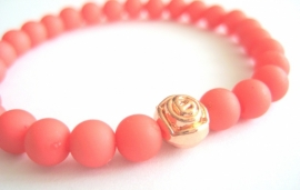 A-0477  Armbandje Tea Rose