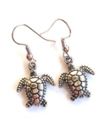 O-0656 Oorbellen Schildpadjes