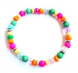A-0566 Armbandje Kleurtjes