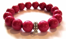 CA-0079L Armband Berryred