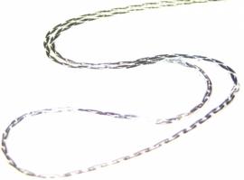 LH-0032  Mooie fijne schakelketting kort 45-50cm
