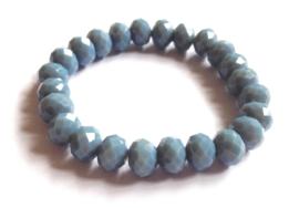 CA-00425M Armband Grijsblauw