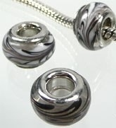 Kraal grijs/paars  PG-0073
