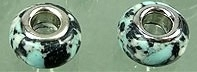 Kraal  lichtblauw /zwart  PG-0025