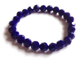 CA-0426S Armband Donkerblauw