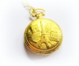 KH-1026 Horlogeketting Goud