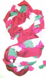 S-0076 Shawl Wollig Pink