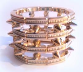 A-0330  Armband Roségoudkleur