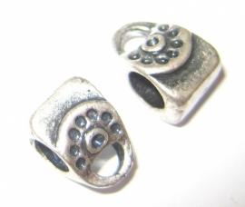 PM-0055 Kraal Tasje Zilver