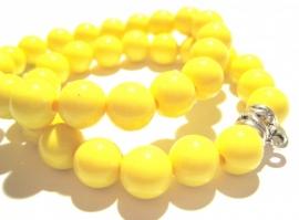CA-0107M Basisarmband Neon Yellow