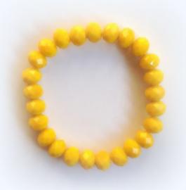 CA-0083M  Armband Geel