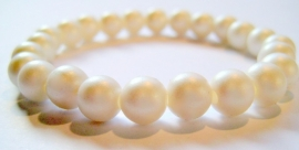 CA-0080M Armband Frozen Pearl
