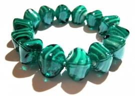 A-0361 Armband Zeegroenblauw