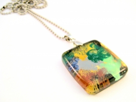 HL-0127 Ketting Italian Glass Art