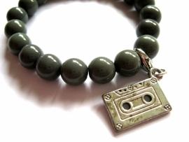 A-0407 Armband met charm