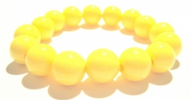 CA-0106L Basisarmband Neon Yellow