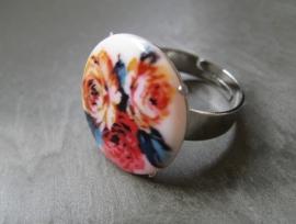 R-0076  Ring Bloemen