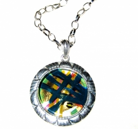 HL-0037 Ketting Glass Art